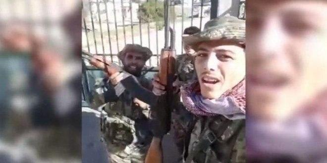 Los terroristas huyen por temor a participar en los combates en Idleb, y las fuerzas de ocupación turcas los capturan