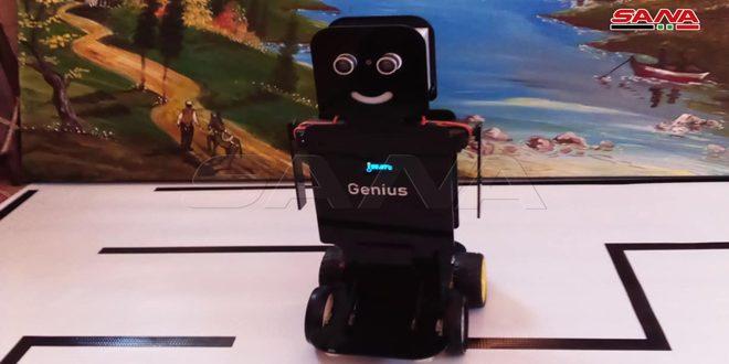 Niños sirios diseñan un robot para medir a distancia la temperatura del cuerpo humano