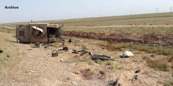 Tres soldados de EE.UU heridos en ataque contra su convoy en el nordeste de Siria