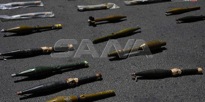 Incautan grandes cantidades de armamento abandonado por terroristas en la región sureña