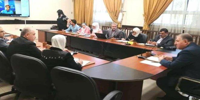 Siria participa en la sesión extraordinaria de la Reunión Global sobre la Educación 2020