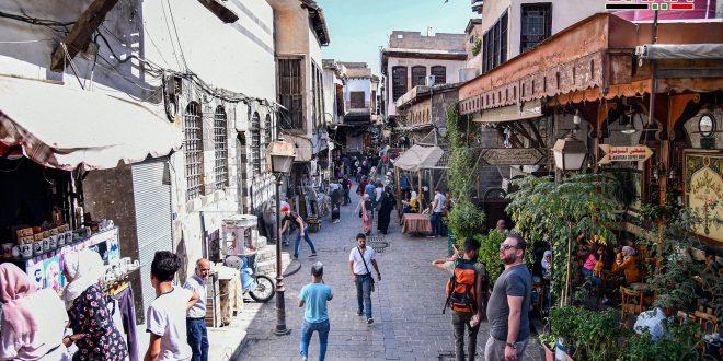 Ciudad de Damasco este lunes, 19 de octubre (fotos)