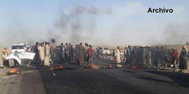 La milicia FDS secuestra a civiles del campamento Al Hol
