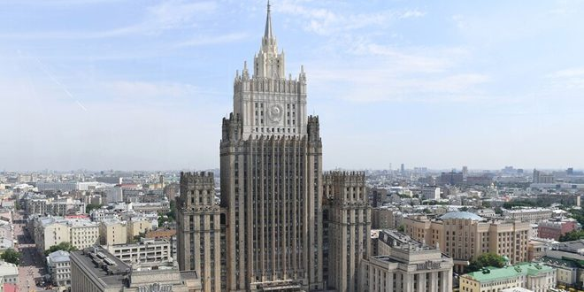 Rusia exige levantamiento de las medidas coercitivas unilaterales impuestas a Siria