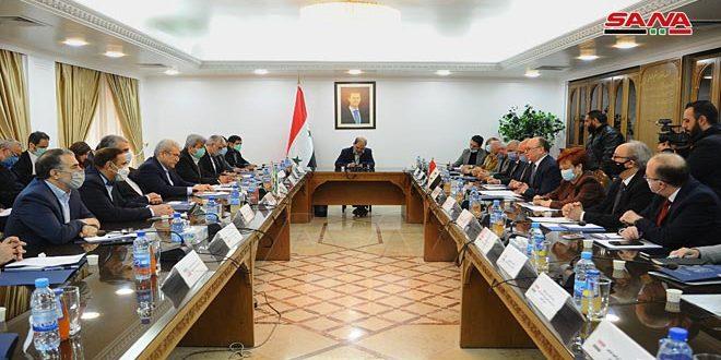 Conversaciones sirio-iraníes para desarrollar la cooperación en el campo tecnológico