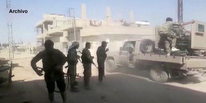 Terroristas proturcos saquean los cables de telefonía en Ras Al-Ain/Hasakeh