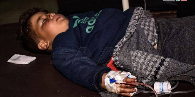 Heridos ocho civiles por estallido de objeto minado en Alepo