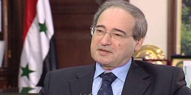 Al-Mekdad: Estados Unidos y sus aliados convirtieron a la OPAQ en un instrumento contra Siria