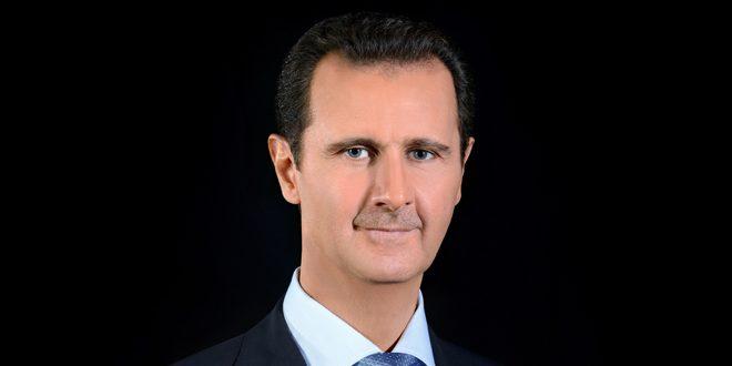 Jefes de Estado felicitan al presidente Al-Assad con motivo del Día de la Independencia