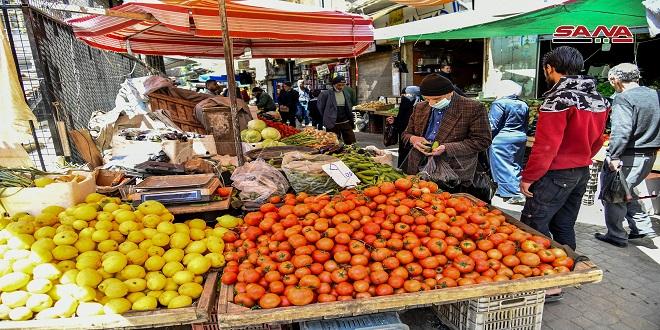 """En fotos: Mercados de Damasco en el segundo día del sagrado mes de ayuno """"Ramadán"""""""