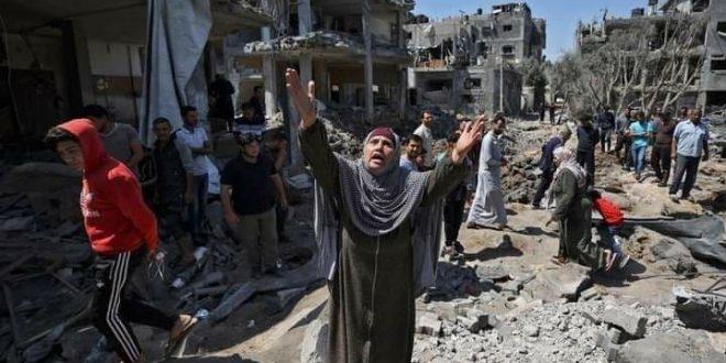 Gaza, indignante silencio de la comunidad internacional ante el genocidio israelí (+ fotos)
