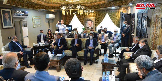 Siria e Irán examinan desarrollar la cooperación económica y de inversión