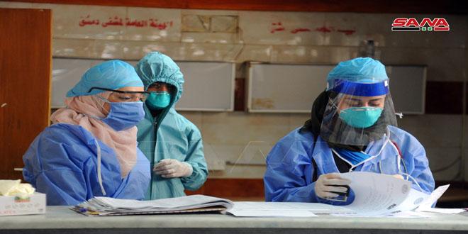 Siria reportó 315 nuevos casos de Covid-19