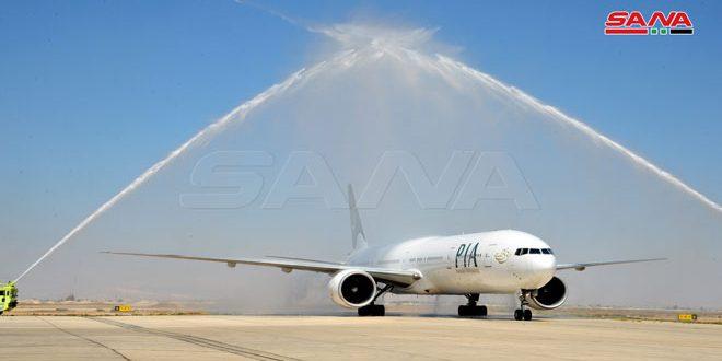 Pakistán reanuda vuelos aéreos a Siria
