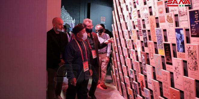 Delegación empresarial y política malasia visita pabellón sirio en Expo Dubái 2020