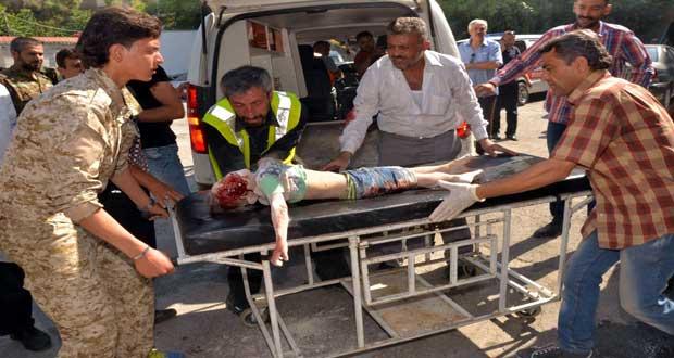 Attaques terroristes aux roquettes contre des quartiers à Alep
