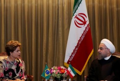 Rohani et Rousseff