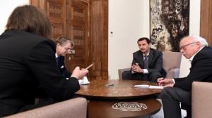 interview du président al-Assad Valeurs 3