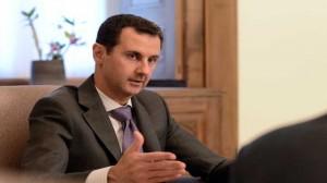 interview du président al-Assad Vlaeurs 1