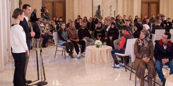 Le président al-Assad