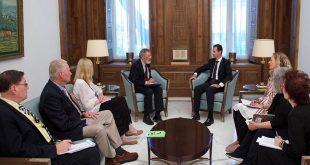 président al-Assad délégation de paix