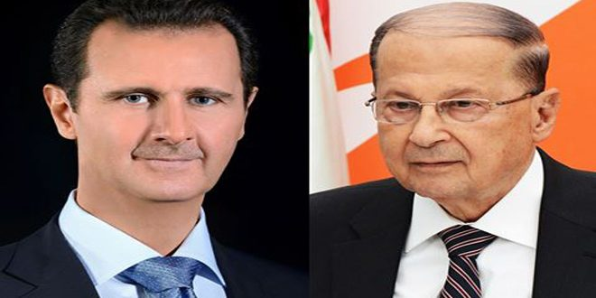 presidents-assad-et-aoun