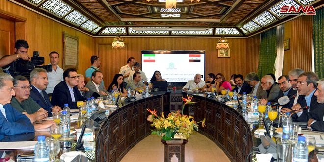 Examen du développement des relations économiques syro-iraniennes