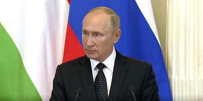 Poutine : La Russie prendra des mesures pour consolider la sécurité de ses forces en Syrie