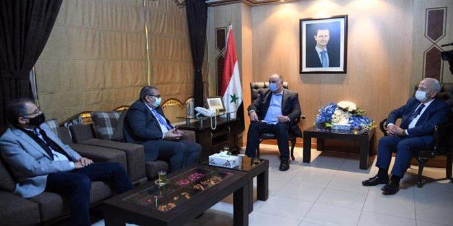 Entretiens syro-jordaniens pour redymaniser le commerce et le transit entre les deux pays