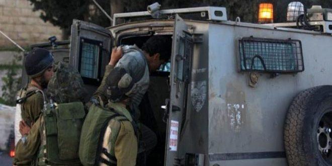 Les forces d'occupation arrêtent neuf Palestiniens en Cisjordanie