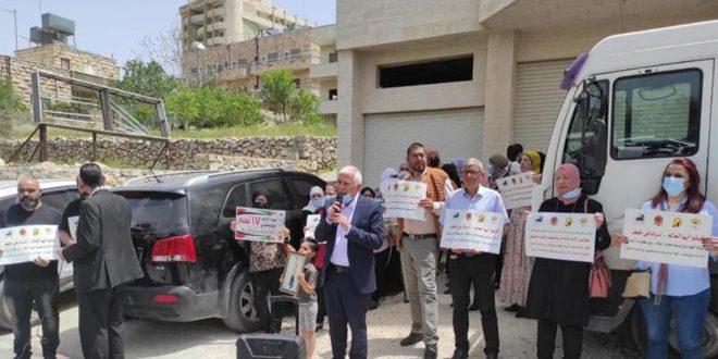 Sit-in de solidarité à Bethléem avec les prisonniers palestiniens dans les geôles d'occupation israélienne