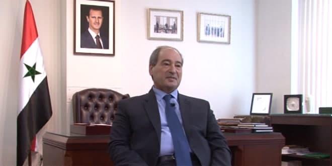 Miqdad : La Syrie est en mesure de déjouer les conspirations qui la visent