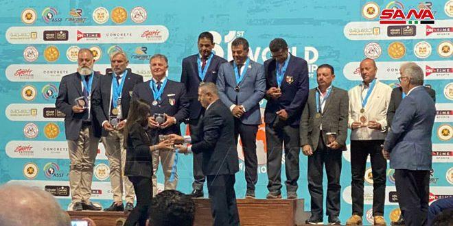 La Syrie se classe 3e au championnat du monde de Tir sportif