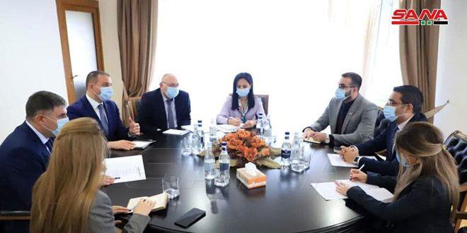 Examen du renforcement des relations syro-arméniennes
