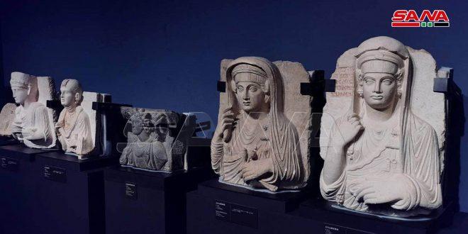 Des antiquités syriennes dans le musée de Nanshan dans la ville chinoise de Shenzhen
