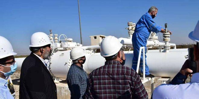 Tournée syro-libano-égyptienne aux deux centrales Rayyan et Daboussiyah dans le cadre du projet du gazoduc arabe