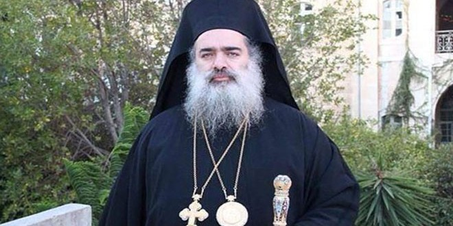 L'archevêque Atallah Hanna: Al-Saleh est le martyr de la Syrie et la Palestine et son assassinat est un crime odieux