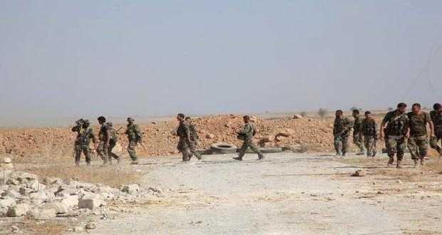 Сводка антитеррористических операций Сирийской армии за 22 октября
