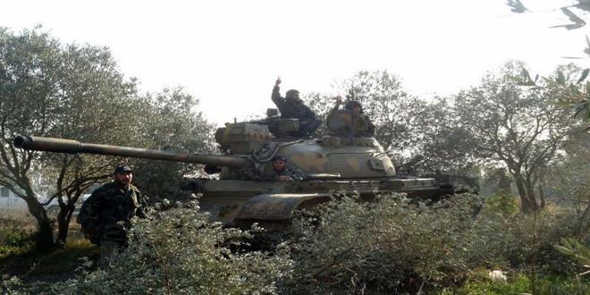 Сводка контртеррористических операций Сирийской армии за 9 декабря