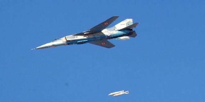 Сводка контртеррористических операций Сирийской армии за 8 декабря