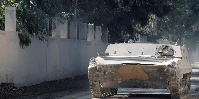 Сводка контртеррористических операций Сирийской армии за 7 декабря