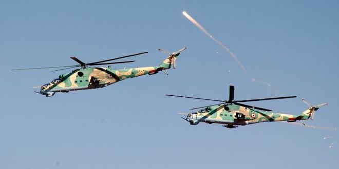 Сводка контртеррористических операций Сирийской армии за 15 декабря