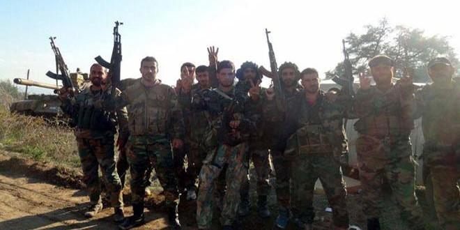 Сводка контртеррористических операций Сирийской армии за 16 декабря