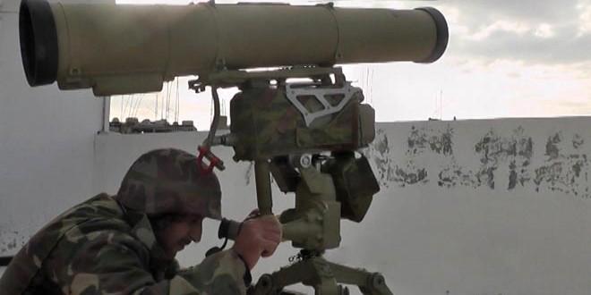 Сводка контртеррористических операций Сирийской армии за 29 декабря