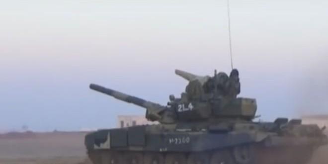 Сводка контртеррористических операций Сирийской армии за 1 января