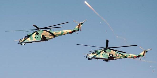 Сводка контртеррористических операций Сирийской армии за 3 января