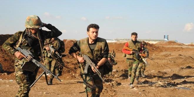 Сводка спецопераций Сирийской армии за 15 января