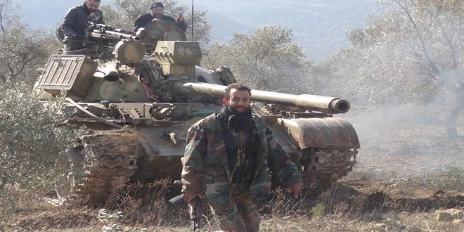 Сводка контртеррористических операций Сирийской армии за 5 января