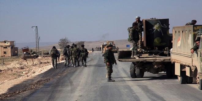 Сводка контртеррористических операций Сирийской армии за 29 февраля