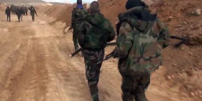 Сводка контртеррористических операций Сирийской армии за 20 февраля